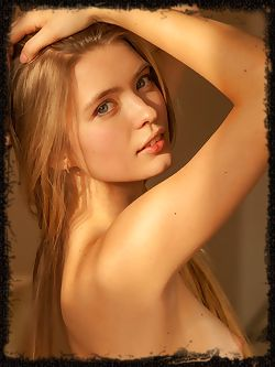 Sigrid basks naked in the afternoon sunlight