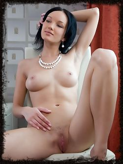 Loreen has glowing blue eyes and a creamy skin and a firm ass she loves to tease you with.